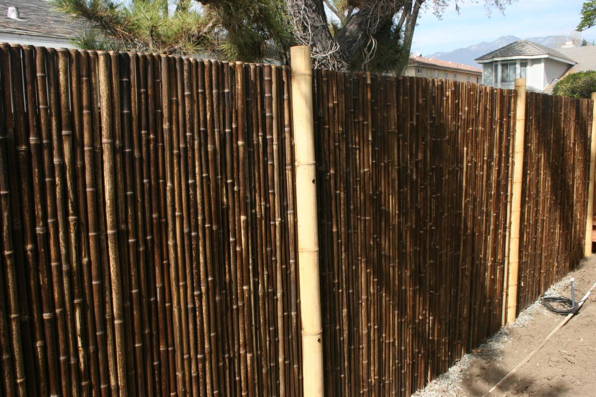 Step 7 Bamboo Fence Garden Beautiful
