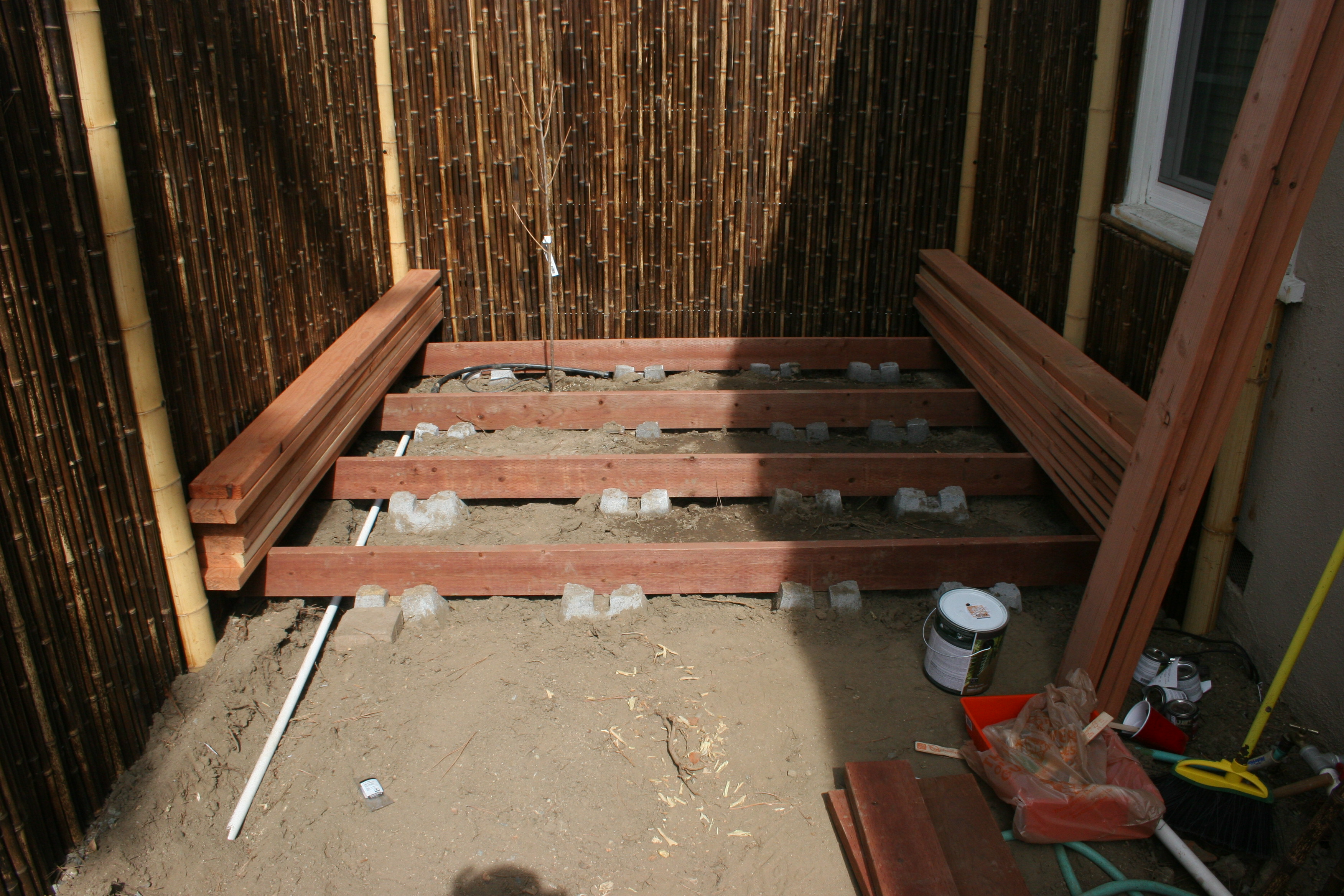Step 8 Deck Garden Beautiful