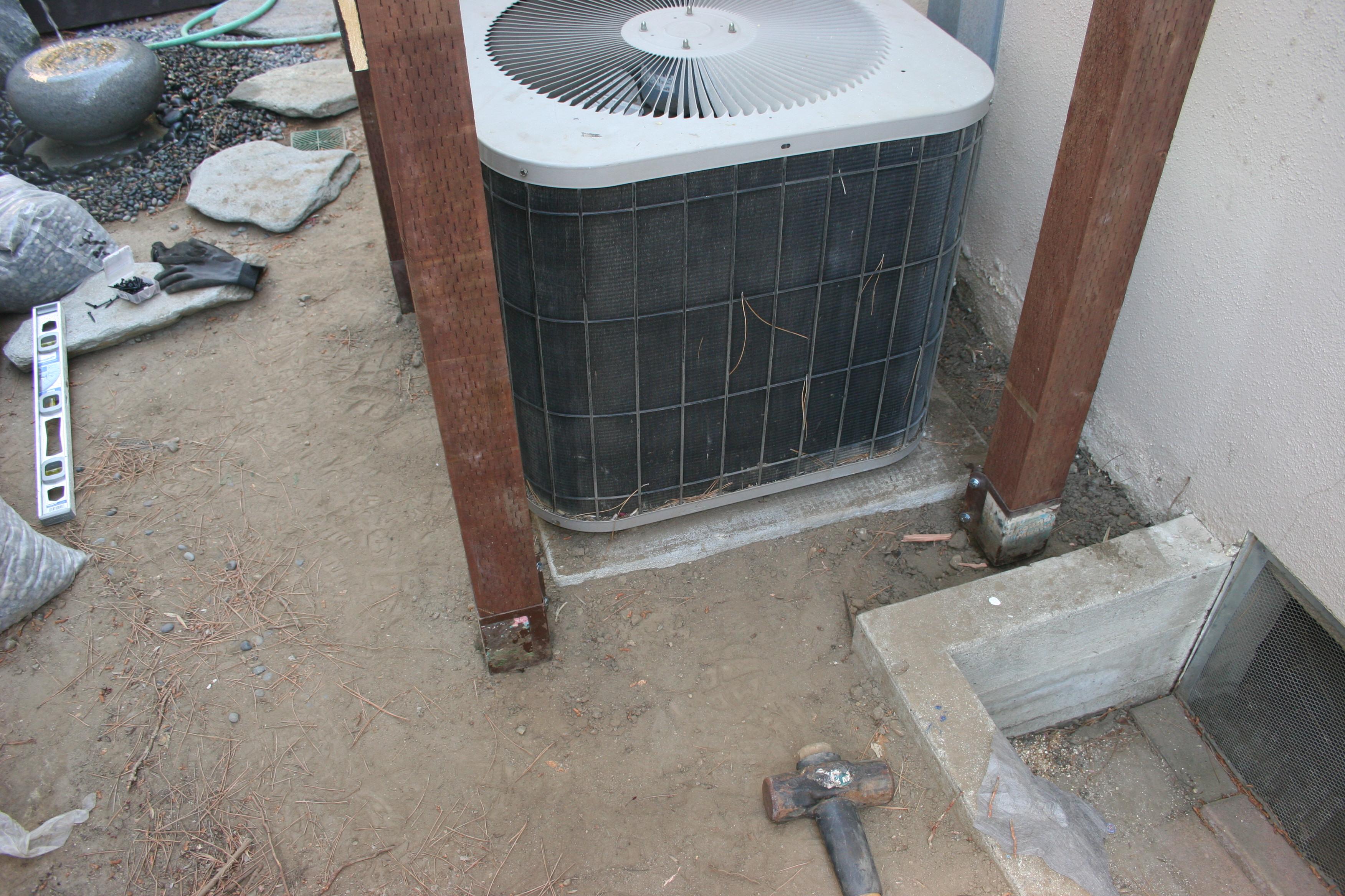 Step 10 – HVAC Fencing